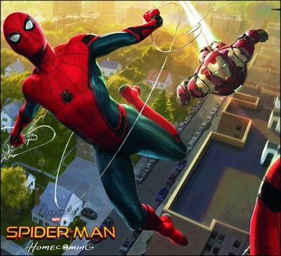 Spider-Man : Homecoming : The Art of the Movie 스파이더맨 홈커밍 공식 컨셉 아트북
