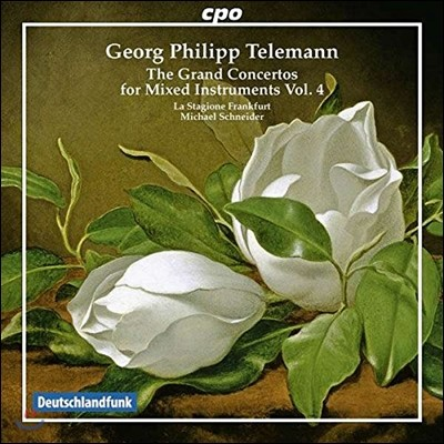 La Stagione Frankfurt / Michael Schneider 텔레만: 여러 악기를 위한 대 협주곡 4집 (Telemann: The Grand Concertos for Mixed Instruments Vol. 4) 미하엘 슈나이더, 라 스타지오네 프랑크푸르트