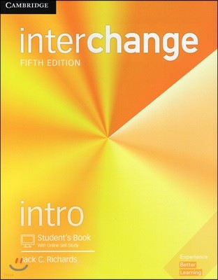 [5판] Interchange Intro Student's Book with Online Self-Study 5/E