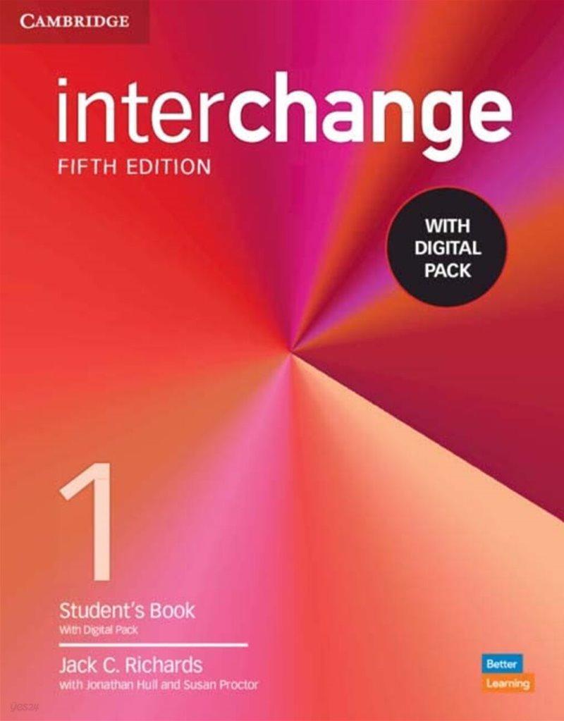 [5판] Interchange Level 1 : Student's Book with Online Self-Study 5/E