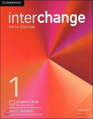 [5판] Interchange Level 1 : Student's Book with Online Self-Study 5/E