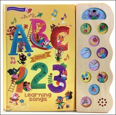 ABC & 123 Learning Songs 10 Button Song Book
