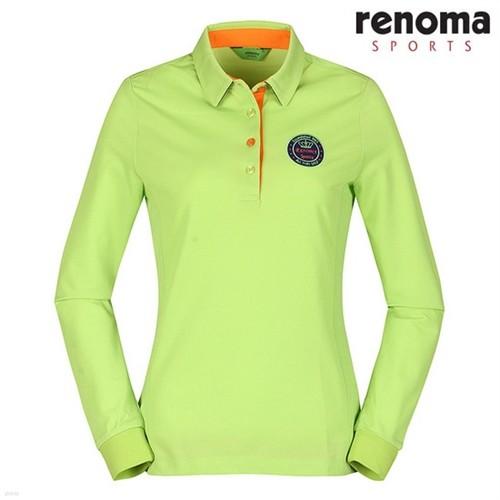[레노마스포츠] 심플 로고 패치 카라 티셔츠 YG (RATS65311)