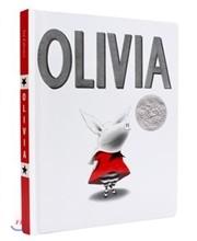 Olivia Classic BIG Board Book 올리비아 클래식 빅 보드북