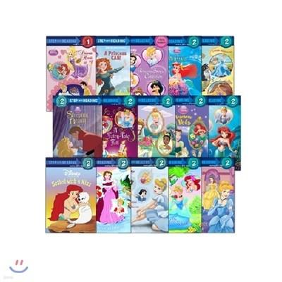 Step into Reading: Disney Princess 15종 세트