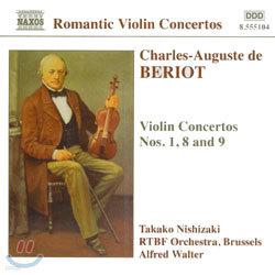 Takako Nishizaki 드 베리오: 바이올린 협주곡 1, 8, 9번 (Beriot: Violin Concertos Nos. 1, 8 & 9)