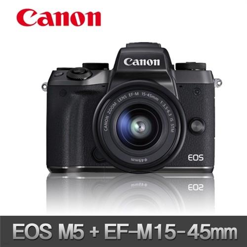 (캐논 정품) EOS-M5 + EF-M 15-45mm STM (새상품...
