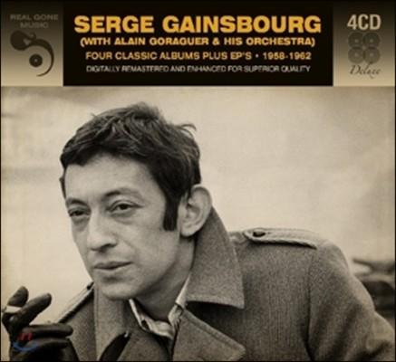 Serge Gainsbourg (세르쥬 갱스부르) - Four Classic Albums + Ep's 1958-1962