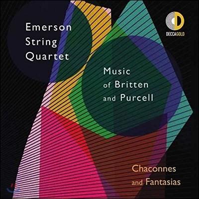 Emerson String Quartet 에머슨 스트링 콰르텟 - 브리튼 / 퍼셀: 샤콘느와 판타지 (Chaconnes and Fantasias - Music of Britten & Purcell)