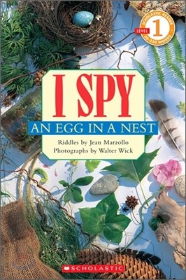 Scholastic Hello Reader Level 1 : I Spy an Egg in a Nest