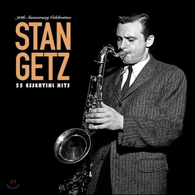Stan Getz - 55 Essential Hits: 90th Anniversary Celebration 스탄 게츠 탄생 90주년 기념 베스트