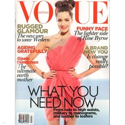 [과월호]Vogue Australia (월간) : 2010년 07월