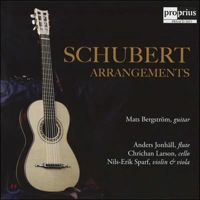 Mats Bergstrom 슈베르트: 아르페지오네 소나타 [기타 연주반] (Schubert: Arrangements)