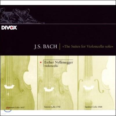 Esther Nyffenegger 바흐: 무반주 첼로 모음곡 전곡 (J.S. Bach: The Suites for Violoncello Solo BWV1007-1012) 에스터 니페네거