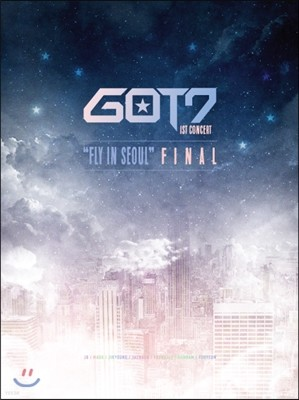"갓세븐 (GOT7) - GOT7 1st Concert ""Fly In Seoul"" Final DVD"
