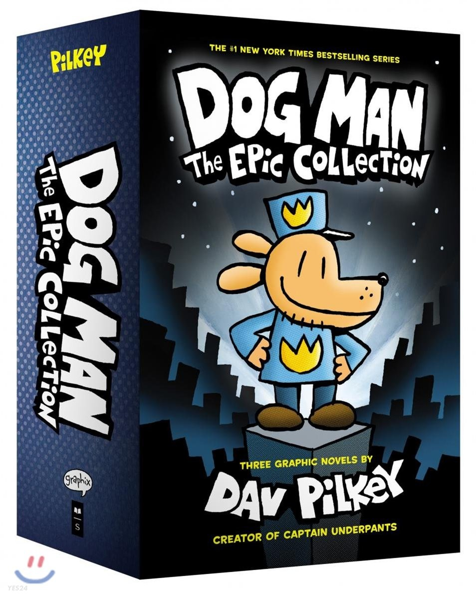 Dog Man #1-3 Boxed Set : The Epic Collection
