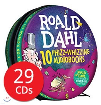 로알드달 오디오북 10종 세트 (영국판) : Roald Dahl : 10 Phizz-whizzing Audiobooks, 29 CD Collection