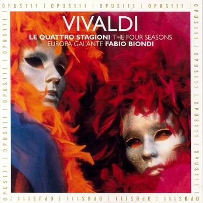 Fabio Biondi 비발디: 사계 (Vivaldi: Le Quattro Stagioni) 파비오 비온디, 유로파 갈란테