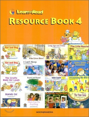 Learn to Read Resource Book 4