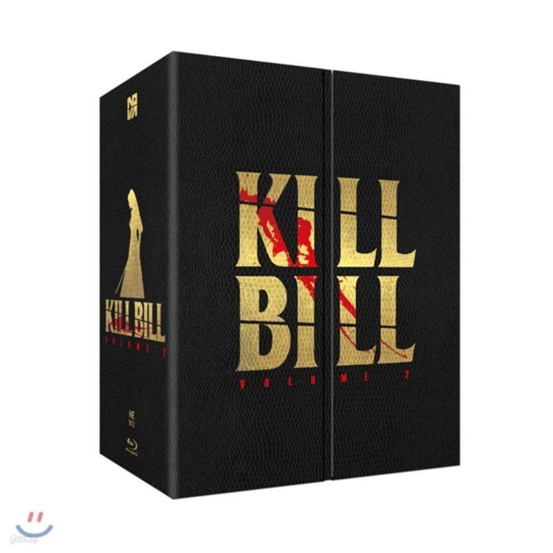 킬빌 Vol.2 (1Disc 박스세트 스틸북 한정판) : 블루레이