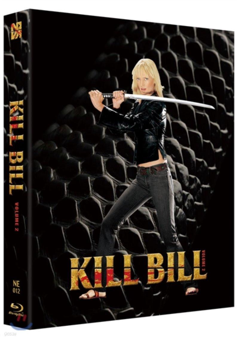 킬빌 Vol.2 (1Disc 풀슬립 A 스틸북 한정판) : 블루레이