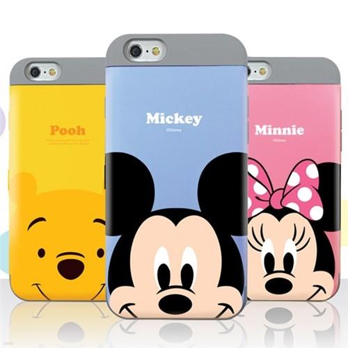 [Disney]디즈니 파스텔 카드 이중 범퍼케이스 -갤럭시S8/플러스/S7/엣지/노트5
