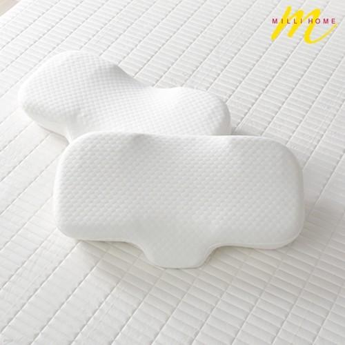 밀리홈 3D 컨투어폼 경추베개1+1
