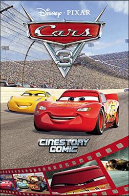 디즈니 픽사 시네스토리 코믹 카3 : Disney/Pixar Cars 3 Cinestory Comic
