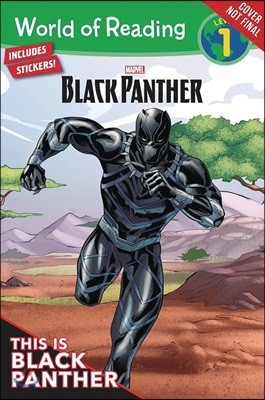 World of Reading  Level 1 : Black Panther This is Black Panther
