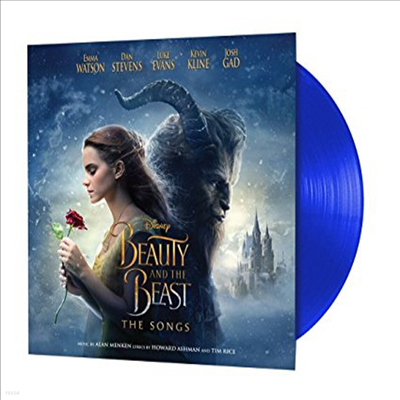 O.S.T. - Beauty & The Beast: The Songs (미녀와 야수)(Limited Edition)(Blue LP)