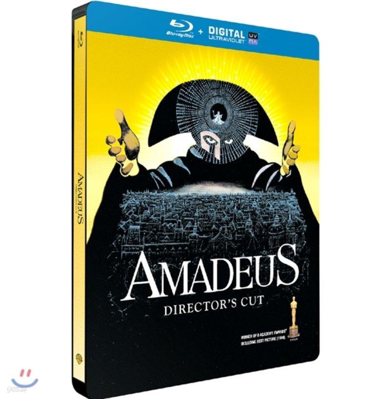 아마데우스 (1Disc 스틸북 한정수량) : 블루레이