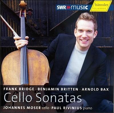 Johannes Moser 브리지, 브리튼, 박스 : 첼로 소나타집 - 요하네스 모저 (Bridge, Britten, Bax : Cello Sonatas)