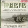 Jean-Efflam Bavouzet / Andrew Davis 찰스 아이브스: 관현악 3집 - 교향곡 3번 & 4번, 관현악 세트 2번 (Charles Ives: Symphonies 'The Camp Meeting', Orchestral Set No.2) 장-에플랑 바부제, 앤드류 데이비스