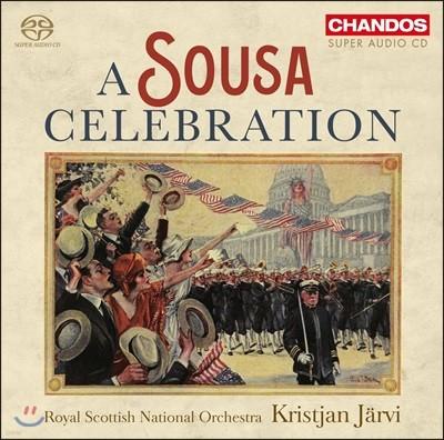 Kristjan Jarvi 수자: 행진곡집 - 로열 스코틀랜드 국립 오케스트라, 크리스티안 예르비 (A Sousa Celebration)