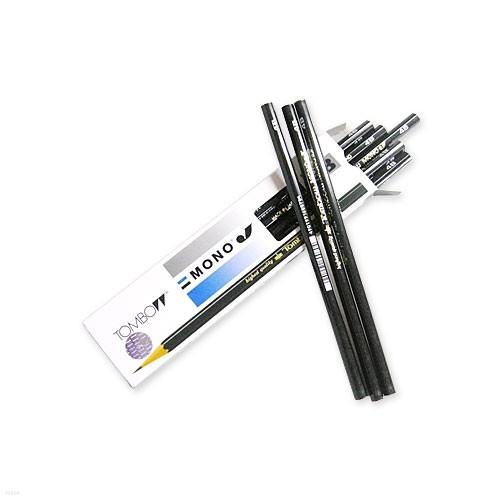 [알앤비]톰보우 monoJ 연필/모노제이/HB B 2B 3B 4B/화방/tombow/톰보/사비연필/미술용/화방필기류-12자루