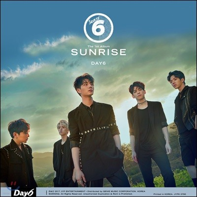 데이식스 (DAY6) 1집 - SUNRISE