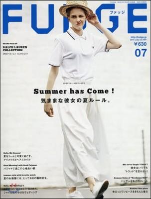 FUDGE(ファッジ) 2017年7月號