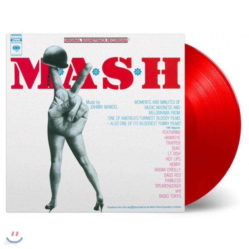 매시 영화음악 (M*A*S*H OST by Johnny Mandel 조니 맨델) [레드 컬러 LP]