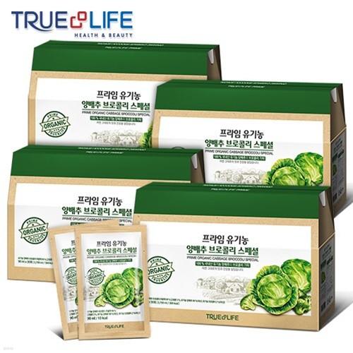 [TNL] 티앤엘 유기농 양배추 브로콜리 1박스 30포 3+1 (120포)