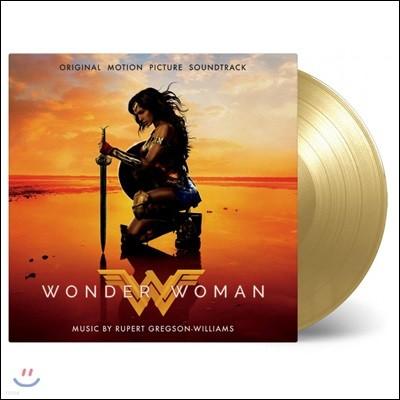 원더 우먼 영화음악 (Wonder Woman OST by Rupert Gregson-Williams & Tina Guo 루퍼트 그렉슨-윌리엄스, 티나 구오) [골드 컬러 디스크 2 LP]