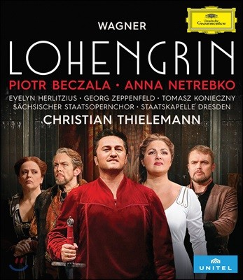 Christian Thielemann / Anna Netrebko 바그너: 로엔그린 - 안나 네트레브코, 표트르 베찰라 (Wagner: Lohengrin) [4K Blu-Ray]