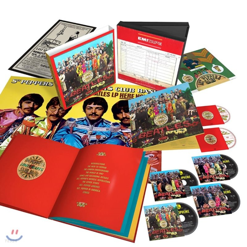 The Beatles (비틀즈) - Sgt. Pepper's Lonely Hearts Club Band [발매 50주년 기념 Super Deluxe Limited Edition]
