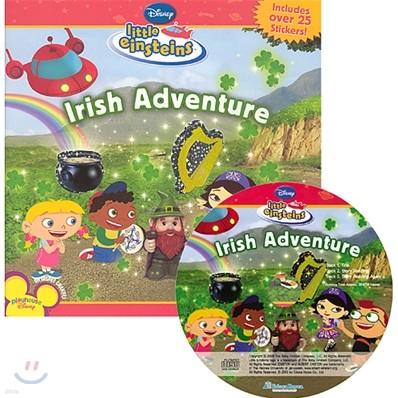 Disney Little Einsteins Early Reader Irish Adventure (Book + CD)