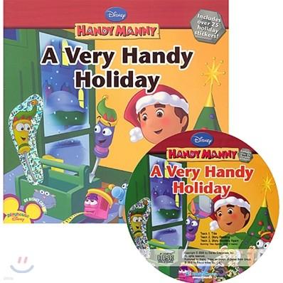 Disney Handy Manny Early Reader A Very Handy Holiday (Book + CD)