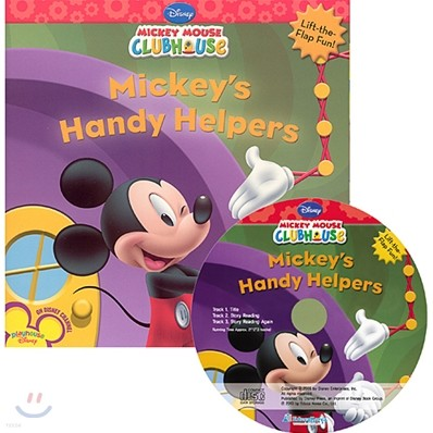 Disney Mickey Mouse Clubhouse : Mickey's Handy Helpers (Book + CD)