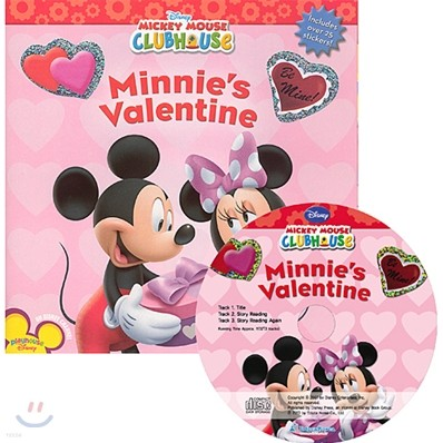 Disney Mickey Mouse Clubhouse : Minnie's Valentine (Book + CD)