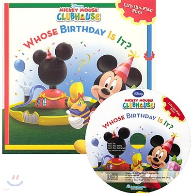 Disney Mickey Mouse Clubhouse : Whose Birthday is It? (Book + CD)