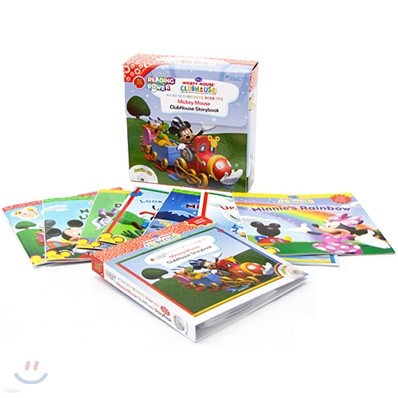 Disney Mickey Mouse Clubhouse 10종 Box Set (Book + CD)