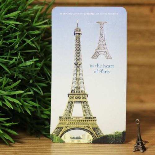 [책갈피] 매혹적인 파리여행 - 은도금 북마크