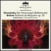 Rudolf Kempe 스트라빈스키: '불새' 발레 모음곡 / 브리튼: 레퀴엠 신포니아 - 루돌프 켐페, 슈타츠카펠레 드레스덴 (Stravinsky: The Firebird Suite / Britten: Sinfonia da Requiem Op.20) [LP]